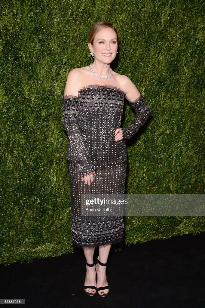 Honoree Julianne Moore attends The Museum of Modern Art Film Benefit presented by