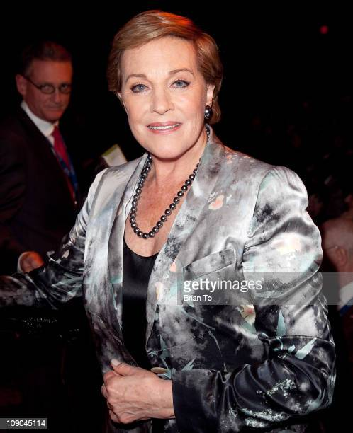 Honoree Julie Andrews attends The Recording Academy special merit awards ceremony at The Wilshire Ebell Theatre on February 12 2011 in Los Angeles...
