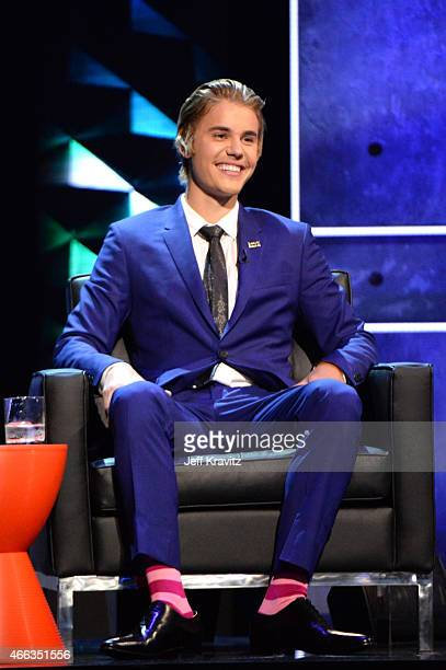 Honoree Justin Bieber attends The Comedy Central Roast of Justin Bieber at Sony Pictures Studios on March 14, 2015 in Los Angeles, California. The...