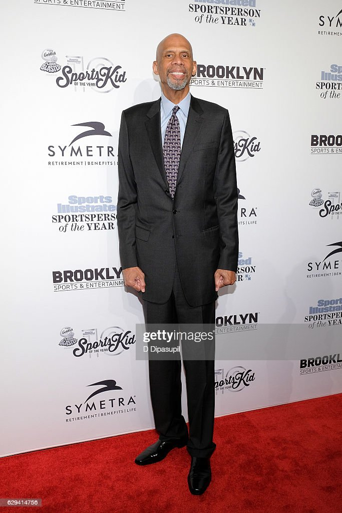 Honoree Kareem Abdul-Jabbar attends the 2016 Sports Illustrated Sportsperson of the Year at Barclays Center of Brooklyn on December 12, 2016 in the Brooklyn borough of New York City.