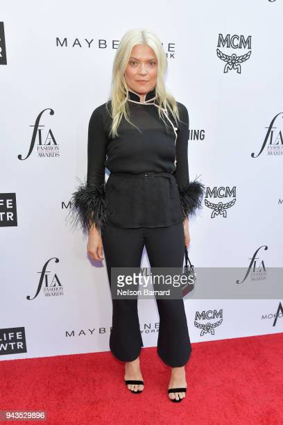 Honoree Kate Young attends The Daily Front Row's 4th Annual Fashion Los Angeles Awards at Beverly Hills Hotel on April 8 2018 in Beverly Hills...