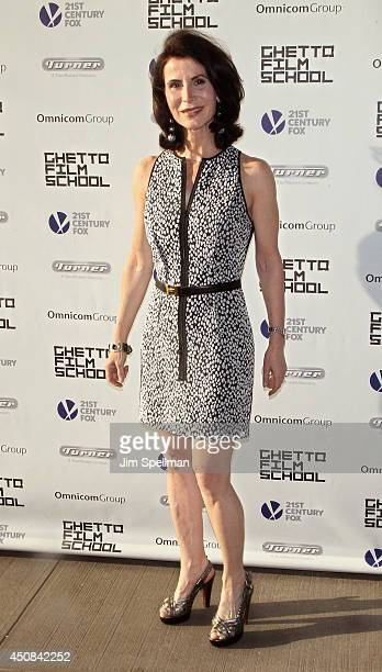 Honoree Katherine Oliver attends Ghetto Film School 10th Annual Spring Benefit at The Standard Biergarten on June 18 2014 in New York City