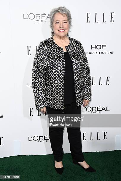 Honoree Kathy Bates attends the 23rd Annual ELLE Women In Hollywood Awards at Four Seasons Hotel Los Angeles at Beverly Hills on October 24 2016 in...