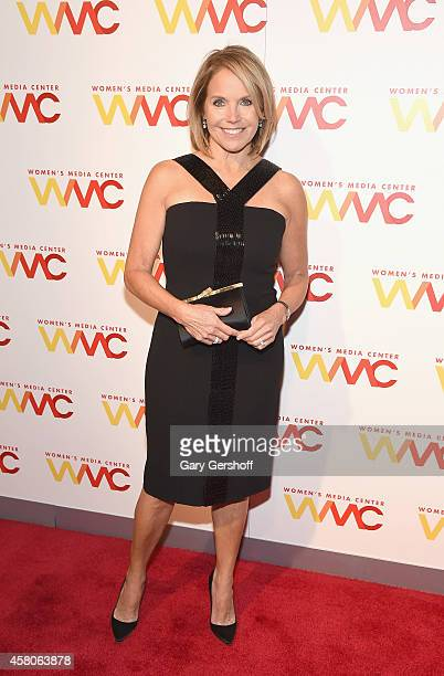 Honoree Katie Couric attends the 2014 Women's Media Awards at Capitale on October 29 2014 in New York City