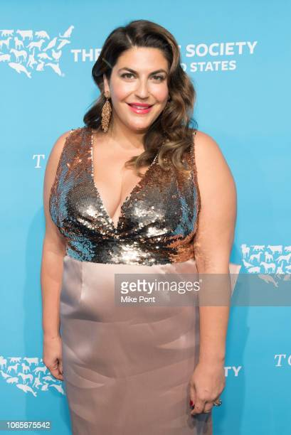Honoree Katie Sturino attends The Humane Society Of The United States 9th Annual To The Rescue Gala at Cipriani 42nd Street on November 09 2018 in...