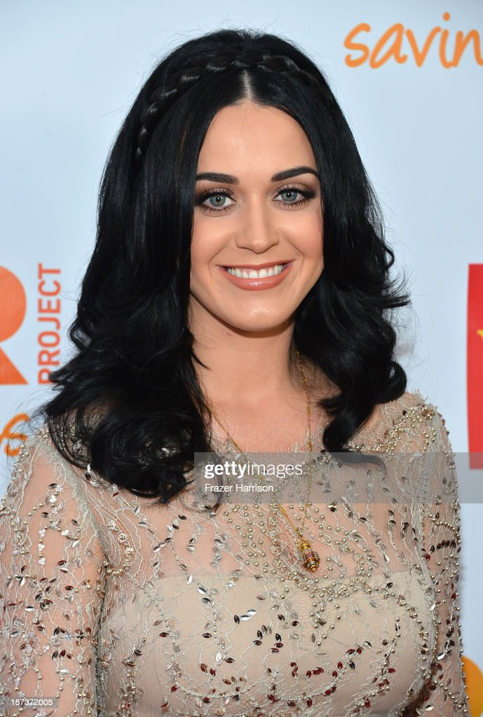Honoree Katy Perry arrives at 'Trevor Live' honoring Katy Perry and Audi of America for The Trevor Project held at The Hollywood Palladium on December 2, 2012 in Los Angeles, California.
