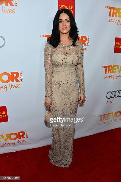 Honoree Katy Perry arrives at 'Trevor Live' honoring Katy Perry and Audi of America for The Trevor Project held at The Hollywood Palladium on...