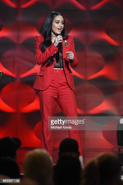 Honoree Kehlani performs onstage at Billboard Women In Music 2017 at The Ray Dolby Ballroom at Hollywood Highland Center on November 30 2017 in...