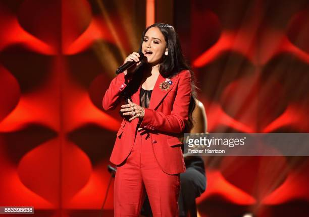 Honoree Kehlani performs onstage during Billboard Women In Music 2017 at The Ray Dolby Ballroom at Hollywood Highland Center on November 30 2017 in...