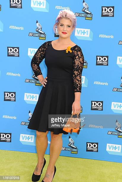 Honoree Kelly Osbourne arrives at the DoSomethingorg and VH1's 2013 Do Something Awards at Avalon on July 31 2013 in Hollywood California