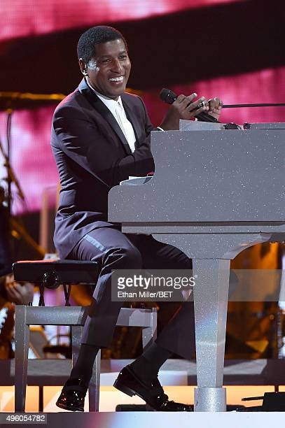 Honoree Kenneth Babyface Edmonds performs onstage during the 2015 Soul Train Music Awards at the Orleans Arena on November 6 2015 in Las Vegas Nevada