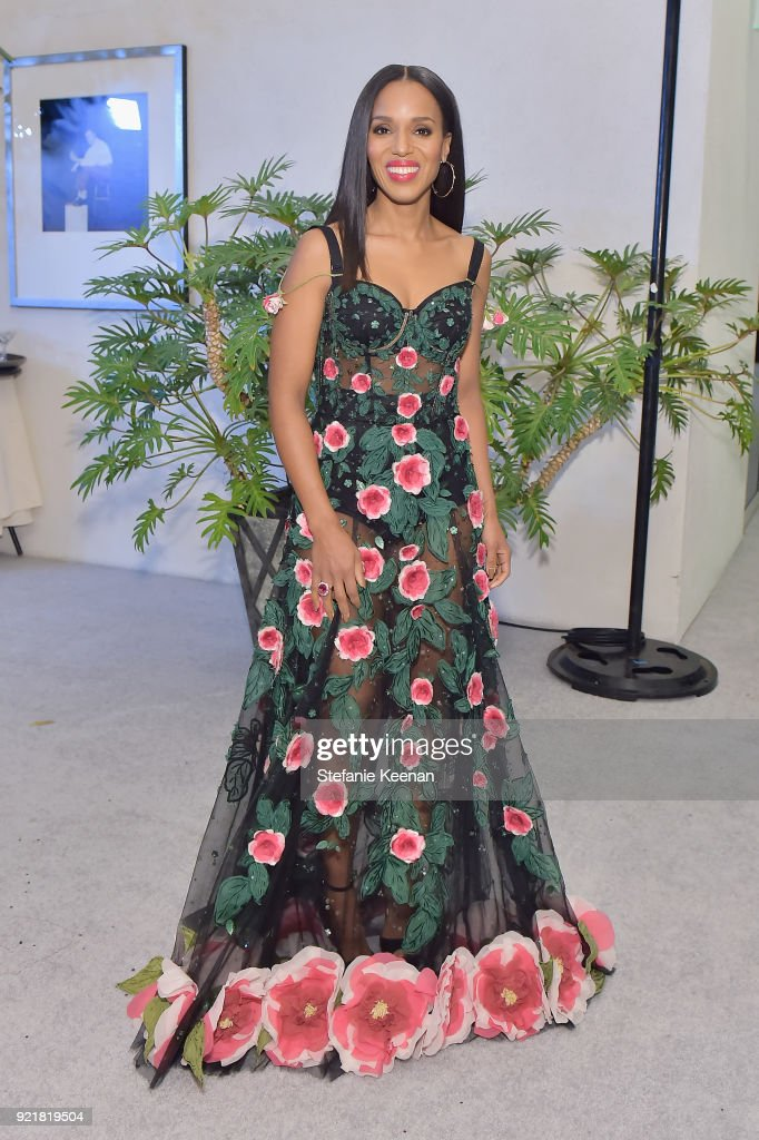 Honoree Kerry Washington attends the Costume Designers Guild Awards at The Beverly Hilton Hotel on February 20, 2018 in Beverly Hills, California.