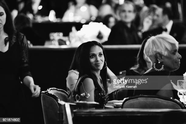 Honoree Kerry Washington attends the Costume Designers Guild Awards at The Beverly Hilton Hotel on February 20 2018 in Beverly Hills California