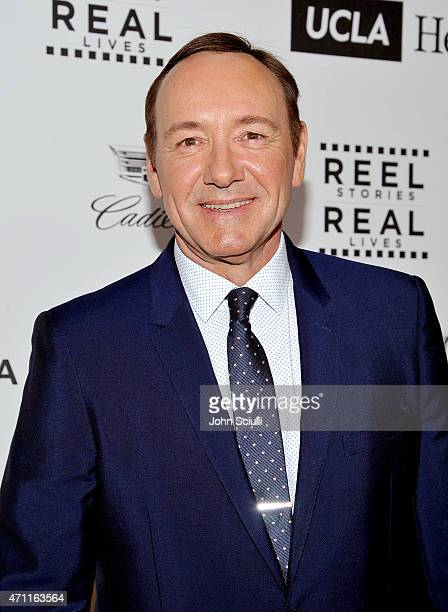 Honoree Kevin Spacey attends the 4th Annual 'Reel Stories Real Lives' benefiting the Motion Picture Television Fund at Milk Studios on April 25 2015...