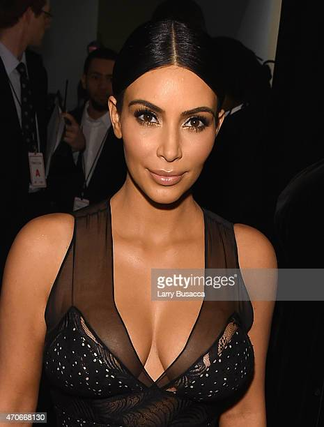 Honoree Kim Kardashian attends TIME 100 Gala TIME's 100 Most Influential People In The World on April 21 2015 in New York City