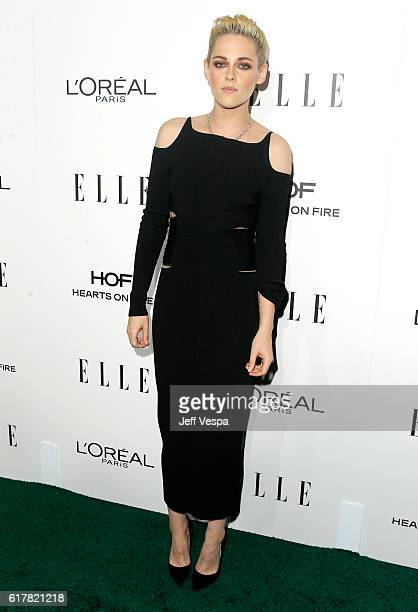 Honoree Kristen Stewart attends the 23rd Annual ELLE Women In Hollywood Awards at Four Seasons Hotel Los Angeles at Beverly Hills on October 24 2016...