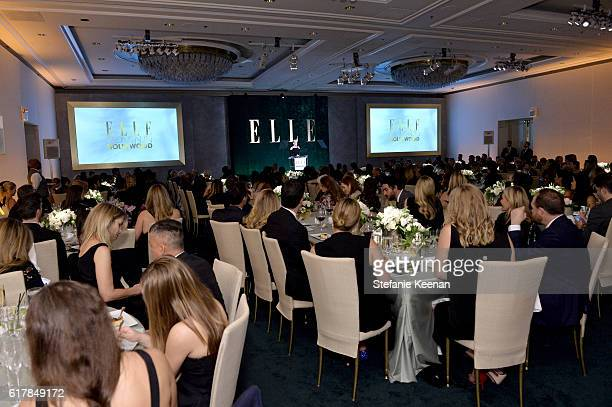 Honoree Kristen Stewart speaks onstage during the 23rd Annual ELLE Women In Hollywood Awards at Four Seasons Hotel Los Angeles at Beverly Hills on...