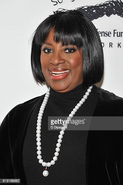 Honoree LaTanya Richardson Jackson attends the Children's Defense FundNew York 2016 Beat The Odds Gala at The Pierre Hotel on February 29 2016 in New...