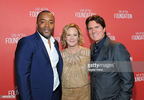 Honoree Lee Daniels SAG Foundation President JoBeth Williams and honoree Rob Marshall attend the Screen Actors Guild Foundation 30th Anniversary...