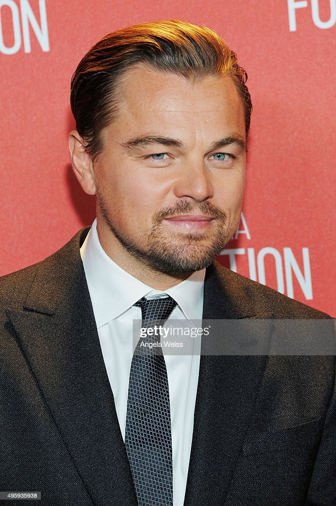 Honoree Leonardo DiCaprio attends the Screen Actors Guild Foundation 30th Anniversary Celebration at Wallis Annenberg Center for the Performing Arts on November 5, 2015 in Beverly Hills, California.
