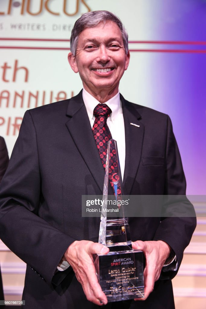 Honoree Leron Gubler attends The Caucus For Producers, Writers & Directors 12th Annual American Spirit Awards at Taglyan Cultural Complex on June 21, 2018 in Hollywood, California.
