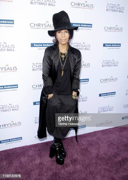 Honoree Linda Perry attends the 18th annual Chrysalis Butterfly Ball on June 01 2019 in Brentwood California
