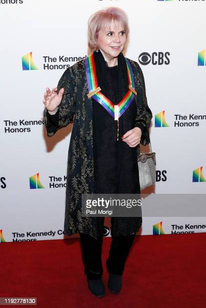 Honoree Linda Ronstadt arrives at the 42nd Annual Kennedy Center Honors Kennedy Center on December 08 2019 in Washington DC