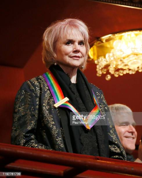 Honoree Linda Ronstadt attends the 42nd Annual Kennedy Center Honors at Kennedy Center Hall of States on December 08 2019 in Washington DC