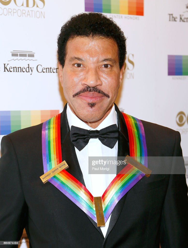 Honoree Lionel Ritchie attends the 40th Kennedy Center Honors at the Kennedy Center on December 3, 2017 in Washington, DC.