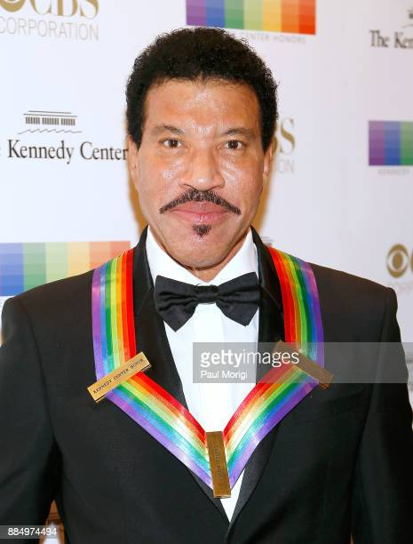 Honoree Lionel Ritchie attends the 40th Kennedy Center Honors at the Kennedy Center on December 3 2017 in Washington DC