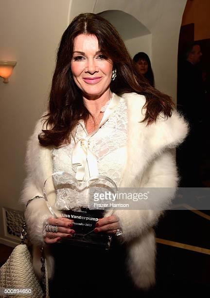 Honoree Lisa Vanderpump attends A British Winter WonderLand UKares 2015 awards at The British Residence on December 10 2015 in Los Angeles California