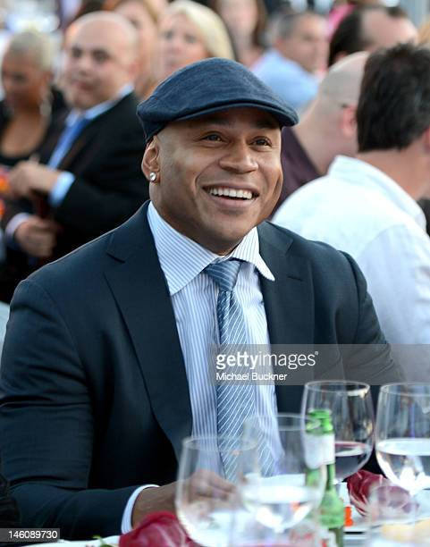 Honoree LL Cool J inside the 11th Annual Chrysalis Butterfly Ball sponsored by Audi Grey Goose Kayne Anderson and smartwater on June 9th 2012