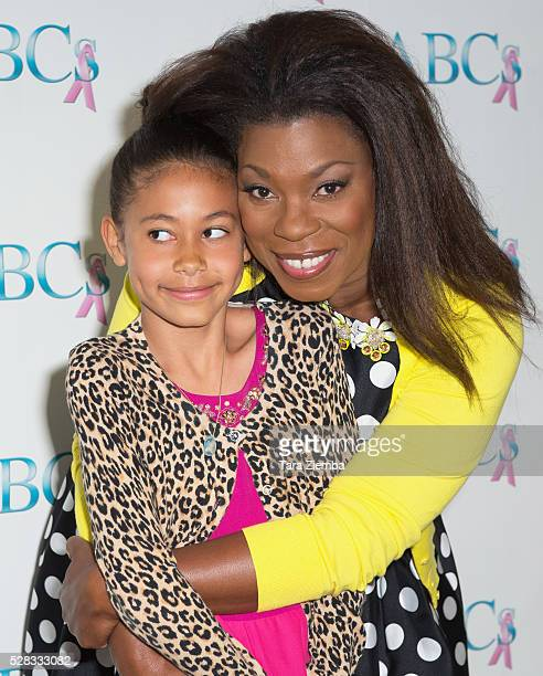 Honoree Lorraine Toussaint and daughter Samara attend ABCs Mother's Day Luncheon at Four Seasons Hotel Los Angeles at Beverly Hills on May 4 2016 in...