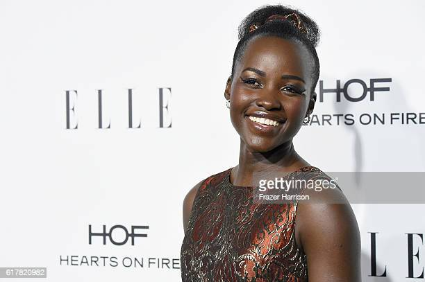 Honoree Lupita Nyong'o attends the 23rd Annual ELLE Women In Hollywood Awards at Four Seasons Hotel Los Angeles at Beverly Hills on October 24 2016...