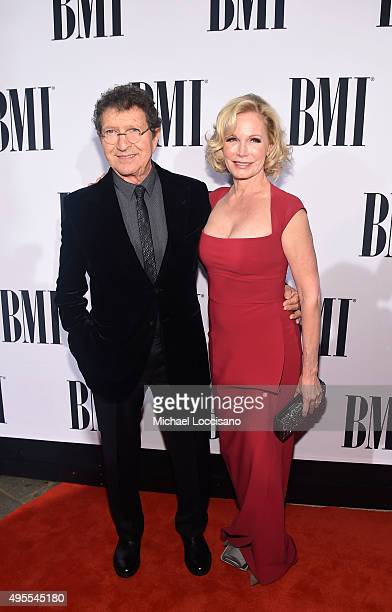 Honoree Mac Davis and Lise Gerard attend the 63rd Annual BMI Country awards on November 3 2015 in Nashville Tennessee