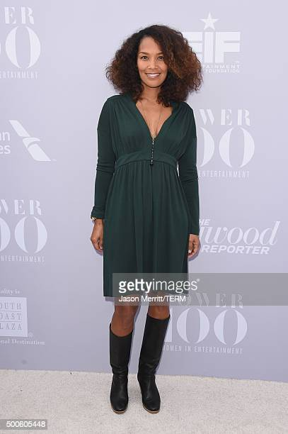 Honoree Mara Brock Akil attends the 24th annual Women in Entertainment Breakfast hosted by The Hollywood Reporter at Milk Studios on December 9 2015...