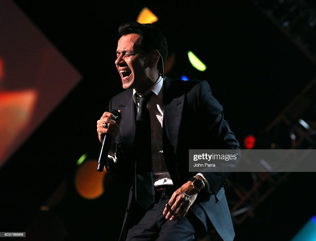 Honoree Marc Anthony performs onstage during the 2016 Person of the Year honoring Marc Anthony at MGM Grand Garden Arena on November 16, 2016 in Las Vegas, Nevada.
