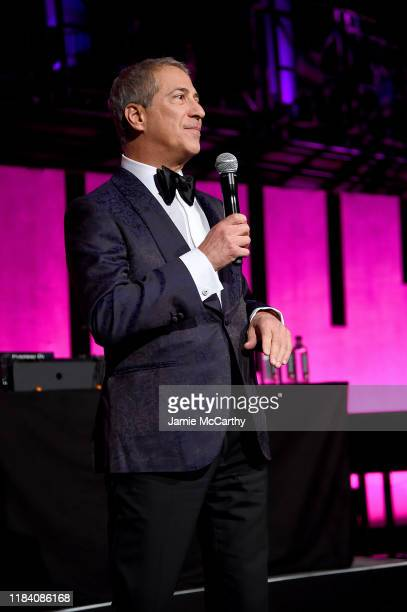 Honoree Marc J. Leder is seen onstage during the Angel Ball 2019 hosted by Gabrielle's Angel Foundation at Cipriani Wall Street on October 28, 2019...