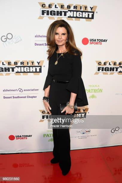 Honoree Maria Shriver attends Celebrity Fight Night XXIV on March 10 2018 in Phoenix Arizona