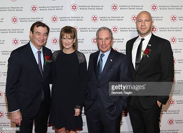 Honoree Mark Lebow Chairman of AFMDA Honoree Patricia Harris CEO Bloomberg Philanthropies Michael Bloomberg former mayor of New York city and honoree...