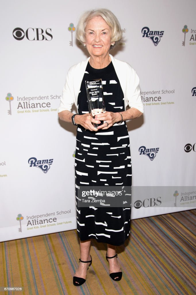 Honoree Mary Beth Barry attends the Independent School Alliance Impact Awards at the Beverly Wilshire Four Seasons Hotel on April 20, 2017 in Beverly Hills, California.