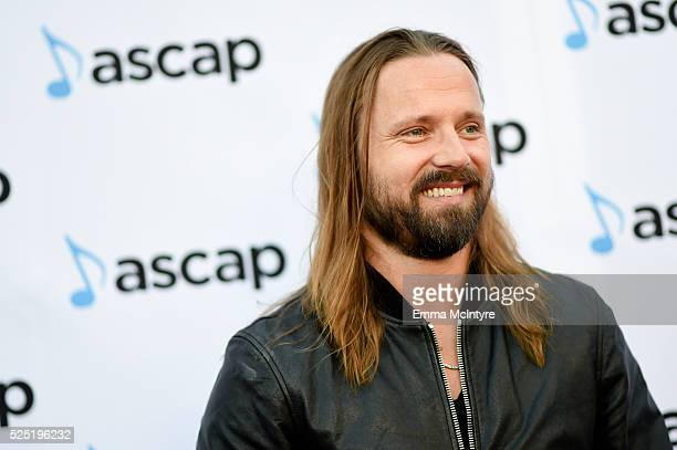 Honoree Max Martin arrives at the 2016 ASCAP Pop Awards at the Dolby Ballroom at Dolby Theatre on April 27 2016 in Hollywood California