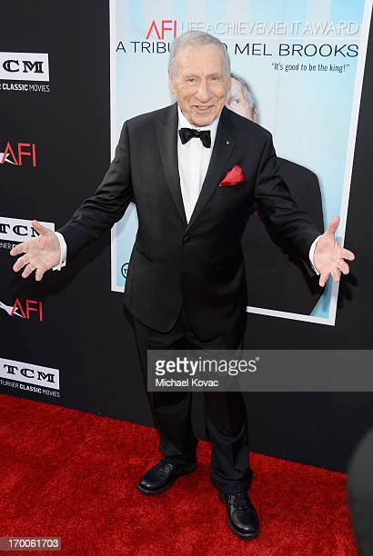 Honoree Mel Brooks attends 41st AFI Life Achievement Award Honoring Mel Brooks at Dolby Theatre on June 6, 2013 in Hollywood, California. Special...