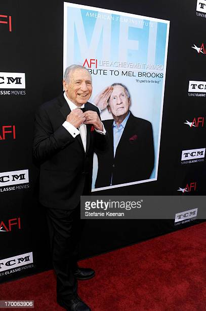 Honoree Mel Brooks attends AFI's 41st Life Achievement Award Tribute to Mel Brooks at Dolby Theatre on June 6, 2013 in Hollywood, California.