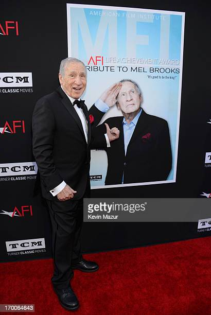 Honoree Mel Brooks attends AFI's 41st Life Achievement Award Tribute to Mel Brooks at Dolby Theatre on June 6, 2013 in Hollywood, California....