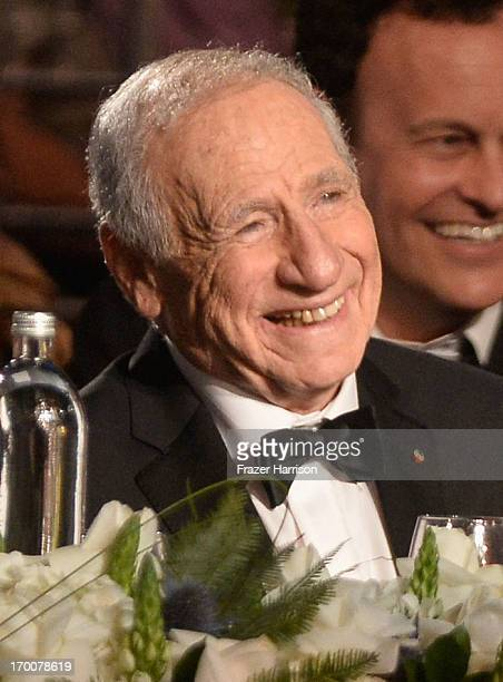 Honoree Mel Brooks attends the 41st AFI Life Achievement Award Honoring Mel Brooks at Dolby Theatre on June 6 2013 in Hollywood California Special...