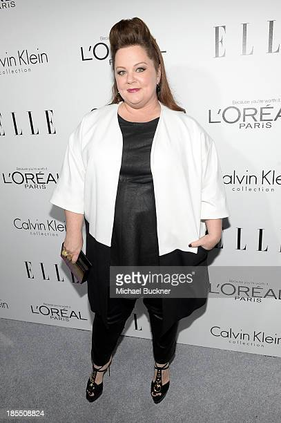 Honoree Melissa McCarthy attends ELLE's 20th Annual Women In Hollywood Celebration at Four Seasons Hotel Los Angeles at Beverly Hills on October 21...