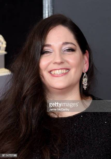 Honoree Melissa Salguero attends the 60th Annual GRAMMY Awards at Madison Square Garden on January 28 2018 in New York City