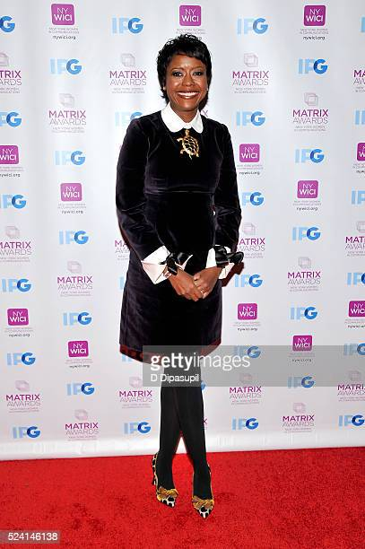 Honoree Mellody Hobson attends the 2016 Matrix Awards at The Waldorf=Astoria on April 25, 2016 in New York City.