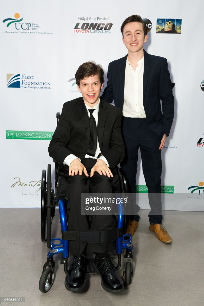 Honoree Micah Fowler, star of ABC's Speechless and Christian